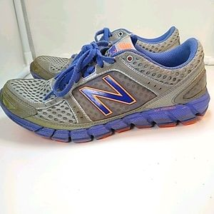 New Balance Purple & Silver 750 Running Shoes W8